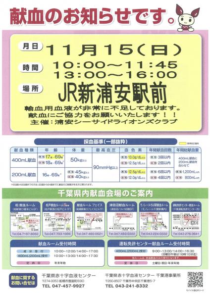 献血ポスター②